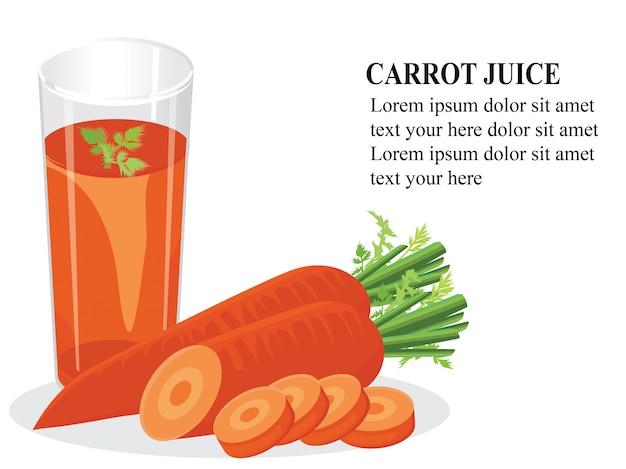 Benefícios de saúde do suco de cenoura