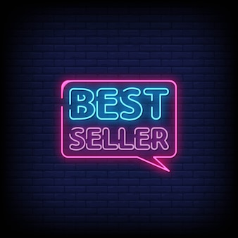 Best seller neon signs style text