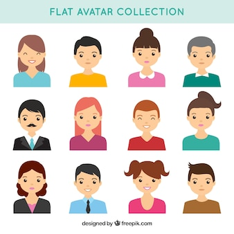 Beutiful pack of lovely professionals avatars