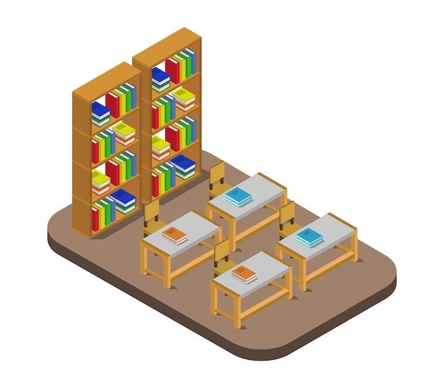 Biblioteca isométrica