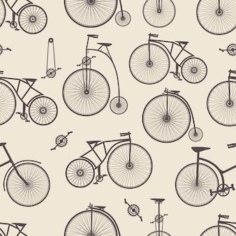 Bicicleta de fundo sem emenda