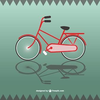 Bicicleta gratuitamente gráficos vetoriais