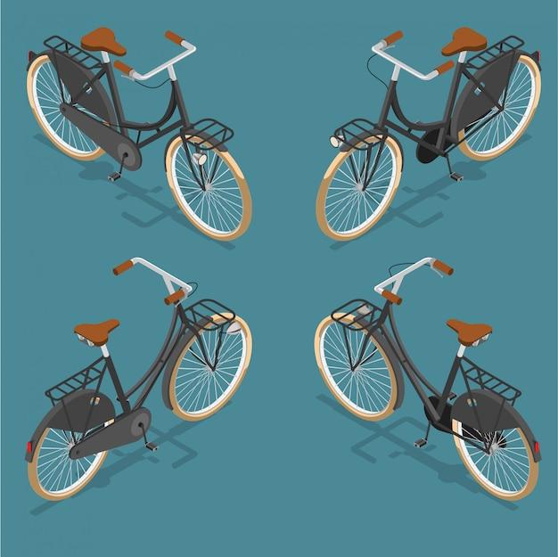 Bicicleta isométrica holandesa