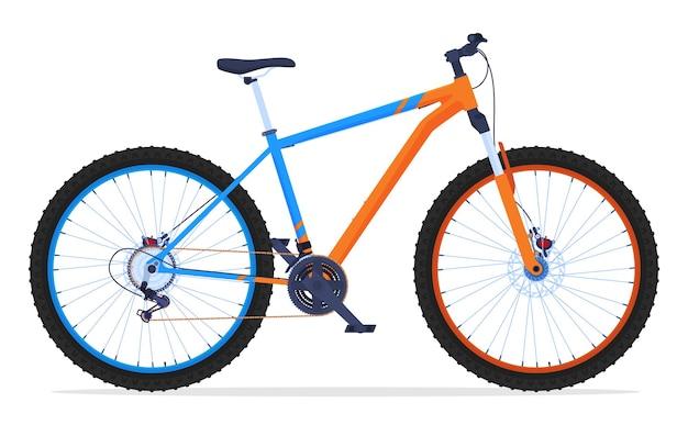 Bicicleta para viajar em terreno difícil