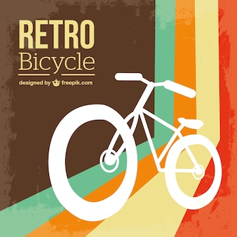 Bicicleta retro vetor livre