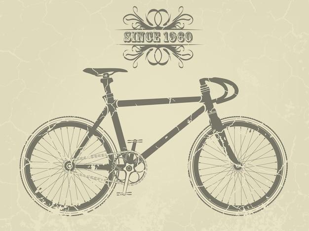 Bicicleta retro.