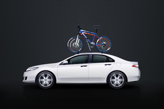 Bicicletas no carro