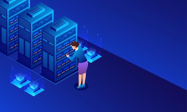 Big data server
