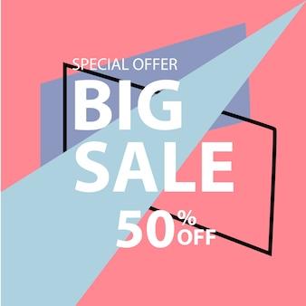Big sale memphis style banner