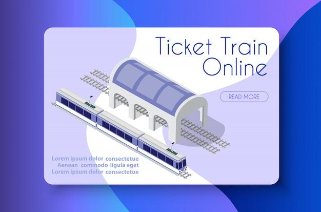 Bilhete de trem on-line