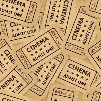 Bilhetes de cinema.