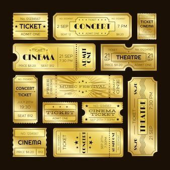 Bilhetes dourados