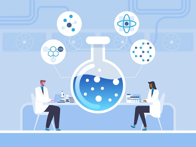 Bioquímica, estudo químico em estilo simples