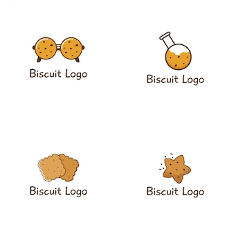 Biscoito logo design collection