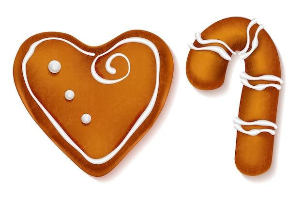 Biscoitos doces de gengibre