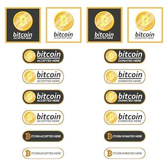 Bitcoin aceitou o pagamento e doou aqui o botão