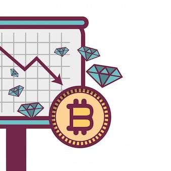 Bitcoin e diamantes