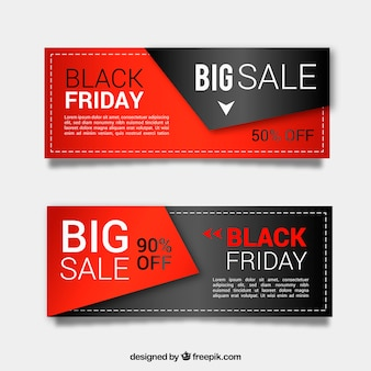 Black banners sexta feira