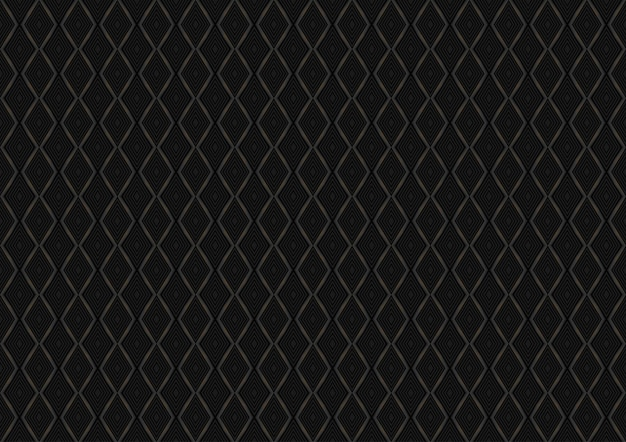 Black diamond seamless pattern