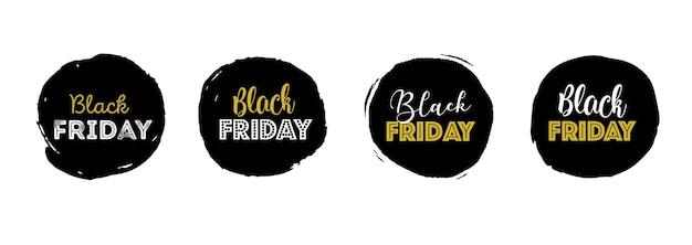 Black friday, banner de venda de natal
