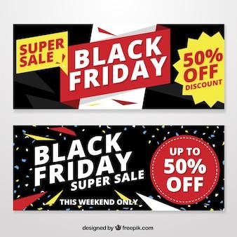 Black friday ofertas especiais banners