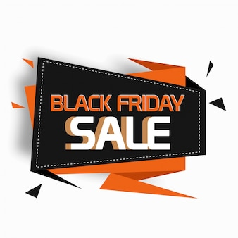 Black friday sale banner, sale poster
