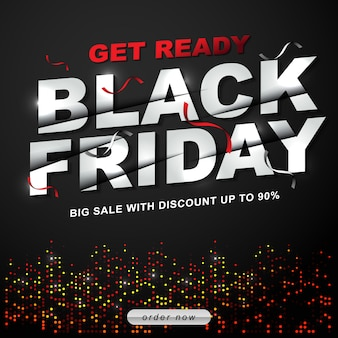 Black friday sale off template desconto