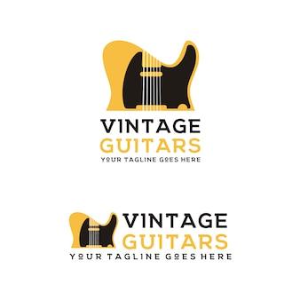Black guitar retro rare guitarra elétrica