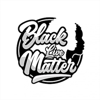 Black lives matter design