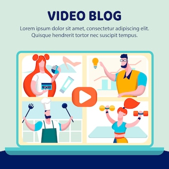 Blog de vídeo