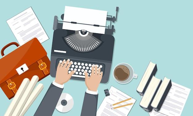 Blogar e escrever seu modelo de história