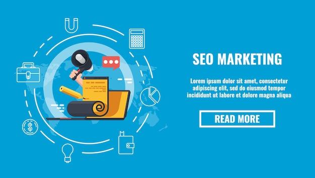 Blogue mundial e conteúdo de mídia fazendo conceito