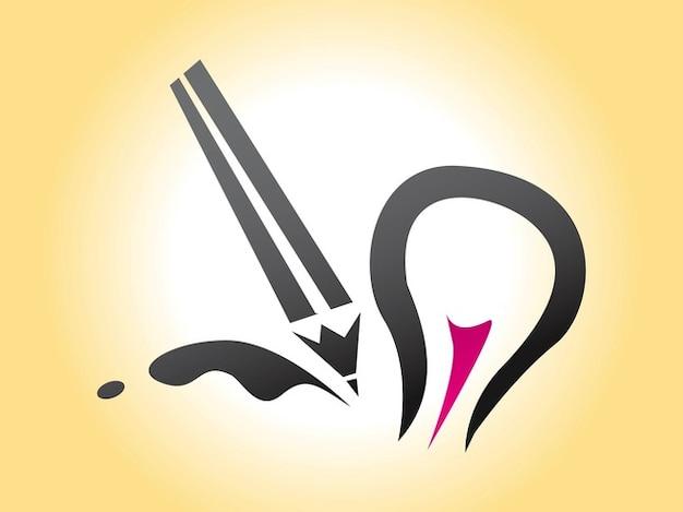 Boa idéia inspiração do logotipo do vetor