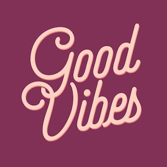 Boas vibrações letras citações