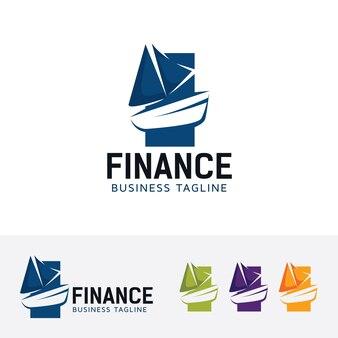 Boat finance, modelo de logotipo