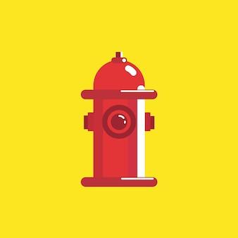 Boca de incêndio plana