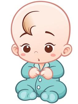 Bodysuit vestindo do bebê