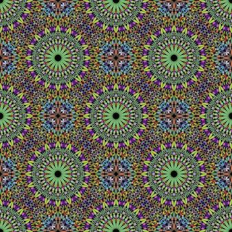 Boêmio multicolor abstrata oriental sem costura padrão arte