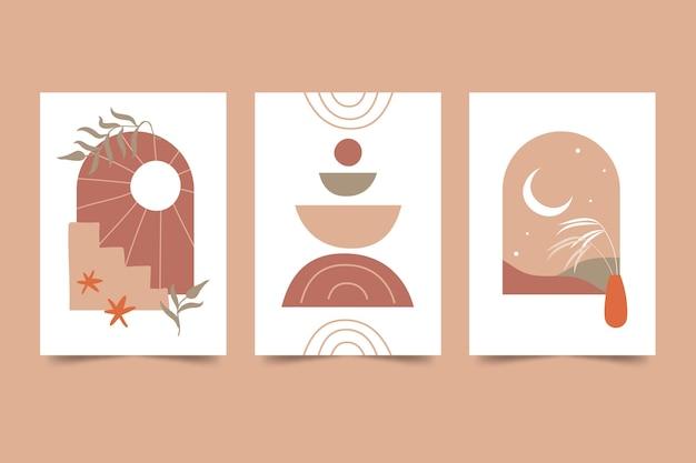 Boho covers coleção