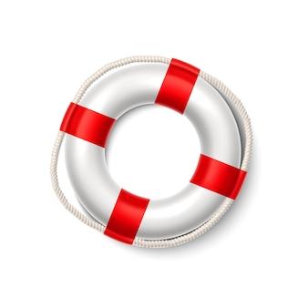 Bóia de vida realista anel de segurança salva-vidas salvador