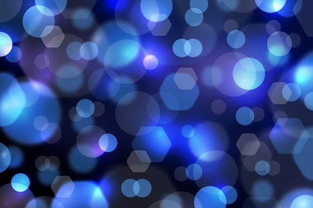 Bokeh abstrato com fundo de luz suave