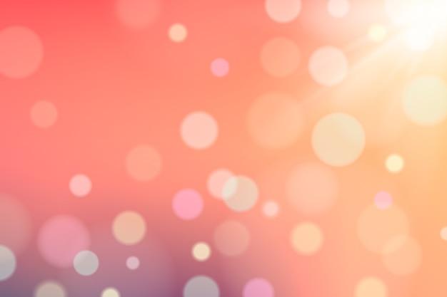 Bokeh abstrato luzes com pontos e manchas