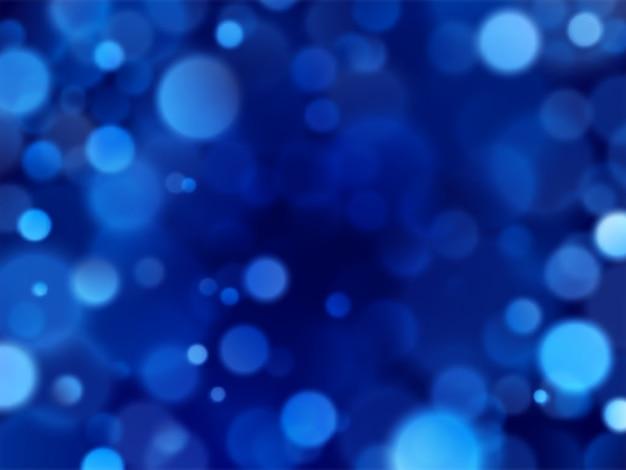 Bokeh azul brilho textura brilho abstrato.