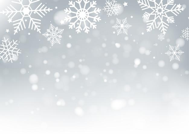 Bokeh de borrão de natal e ano novo