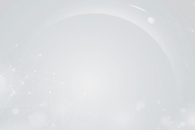 Bokeh de fundo branco gradiente