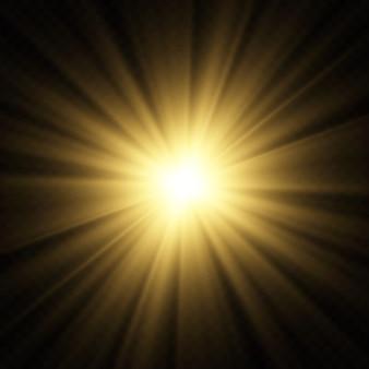 Bokeh embaçado legal ilumina o fundo do vetor.
