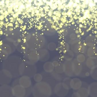Bokeh fundo com luzes brilhantes