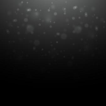 Bokeh fundo preto escuro