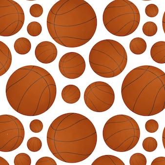 Bola de basquete laranja com padrão para jogos de esportes
