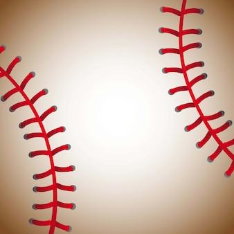 Bola de beisebol textura fundo ilustração vetorial antiga